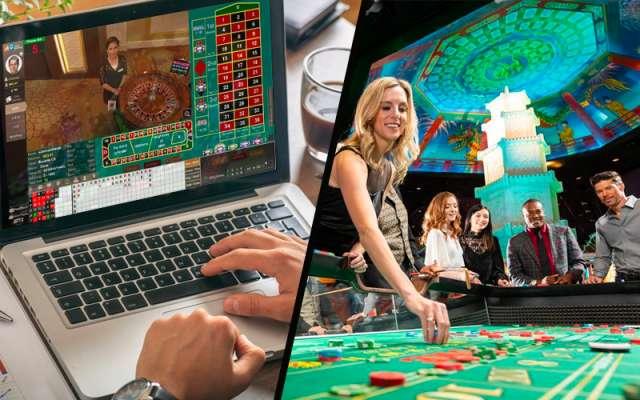 ライブカジノとリアルカジノの違い
